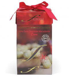 Christmas Sleek Whole Dark Macadamia 120G