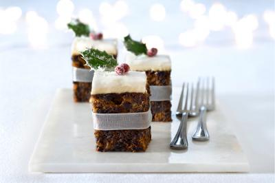 Blue Ribbon Christmas Fruit Cake